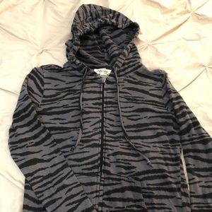 "Boutique ""Tiger"" pattern hoodie"